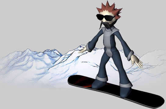 3Dboarder
