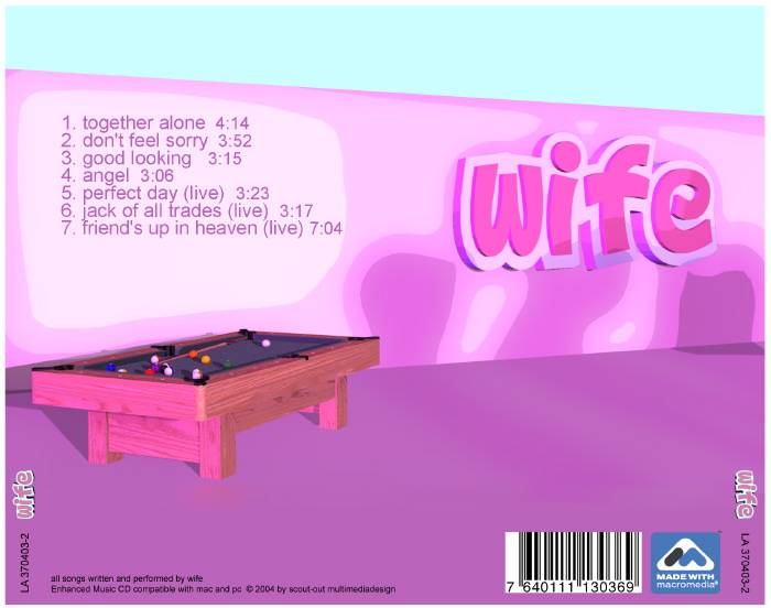 WifeCD Booklet
